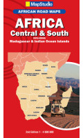 MapStudio Africa Central & South Road Map