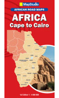 MapStudio Africa Cape To Cairo Map