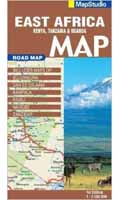 Mapstudio Africa East Road Map