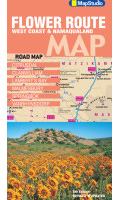 Mapstudio Flower Route Road Map
