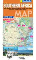 MapStudio Southern Africa Road Map