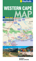 MapStudio Western Cape Road Map