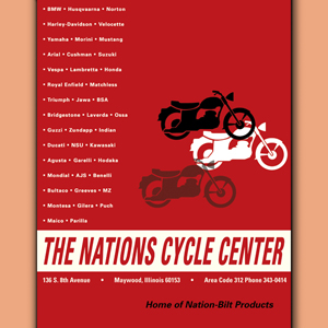 National Cycle History - The Nations Cycle Center