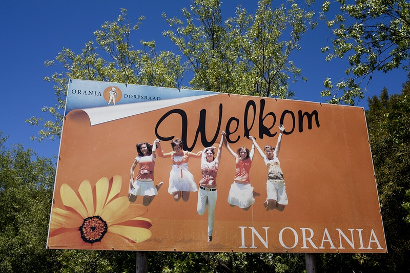Welcome to Orania