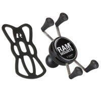 RAM Universal X-Grip® Cell/iPhone Holder with 1 Inch Ball