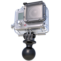 RAM 1 inch Ball with Custom GoPro® Hero Adapter