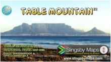 Slingsby Table Mountain Map