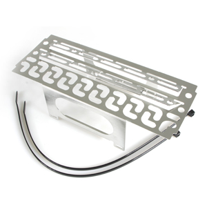 Oil Cooler Protector Silver for BMW R1200GS 2006-2012