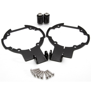 Spotlight Relocation Bracket Set BMW R1200GSA 2006-2013