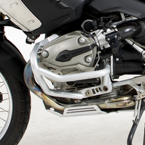 Crash Bars Silver for the BMW R1200GS 2004-2012 models