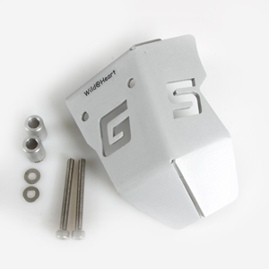 Throttle Potentionmeter Cover Silver for the BMW R1200GS/A 2004-2013 Air Cooled
