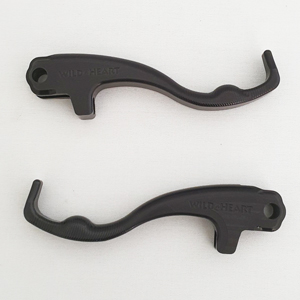 BMW R1200GS Air-Cooled Two Finger Levers Black