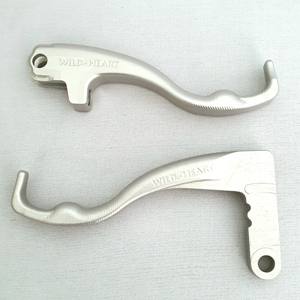 BMW F800GS Two Finger Levers Silver