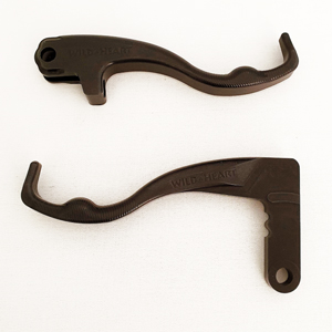 BMW F800GS Two Finger Levers Black
