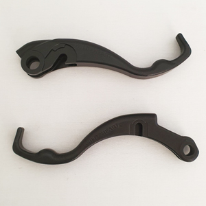BMW 850GS Two Finger Levers Black