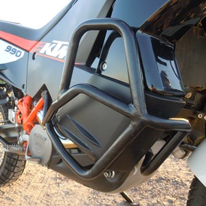 Crash Bars Black KTM 950/990 Adventure