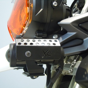 Spotlight Cover Left for the Triumph Tiger 800XC