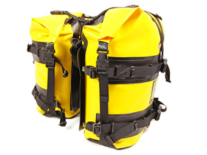 Wolfman Expedition Saddlebags Yellow